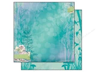 Angels/Cherubs/Fairies Clearance: Bo Bunny 12 x 12 in. Paper Enchanted Garden (25 pieces)