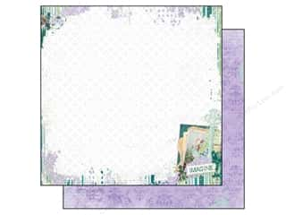 Angels/Cherubs/Fairies Clearance: Bo Bunny Paper 12x12 Enchanted Garden Imagine (25 pieces)