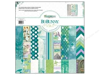 Scrapbooking Angels/Cherubs/Fairies: Bo Bunny 12 x 12 in. Paper Collection Pack Enchanted Garden
