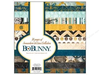 Calendars 6 x 6: Bo Bunny 6 x 6 in. Paper Pad Somewhere In Time