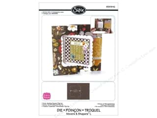 Sizzix Die Movers L Flip Its Card Square by Stephanie Barnard