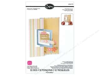 Sizzix: Sizzix Framelits Die Set 12PK Card Square Flip Its #2  by Stephanie Barnard