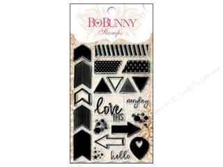 Bo Bunny Hearts: Bo Bunny Clear Stamps To The Point