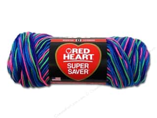 C&C Red Heart Super Saver 4ply 5oz Bright Mix