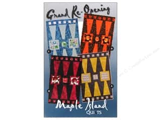 Maple Island Quilts Hot: Maple Island Quilts Grand Re-Opening Pattern