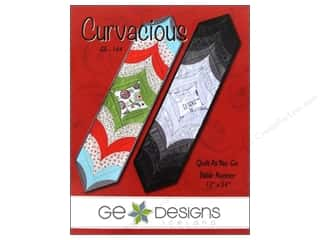 G.E. Designs Fat Quarters Books: GE Designs Curvacious Runner Pattern