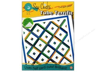 Finishes Sewing & Quilting: Cozy Quilt Designs Sew Chicks Tube Terrific Pattern