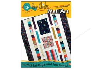Sew Many Creations Fat Quarters Patterns: Cozy Quilt Designs Sew Chicks Wall Art Pattern