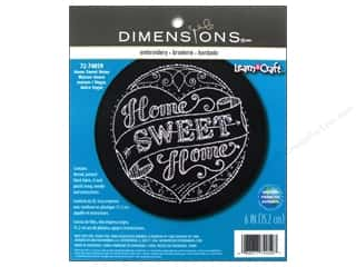 Crafting Kits Dimensions: Dimensions Embroidery Kit Home Sweet Home