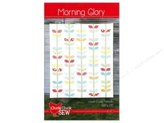 Straight Stitch Fat Quarters Patterns: Cluck Cluck Sew Morning Glory Pattern