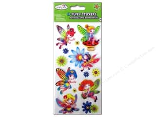 Craft Embellishments Angels/Cherubs/Fairies: Multicraft Sticker Puffy 3D 4 Styles Frolic (48 sets)