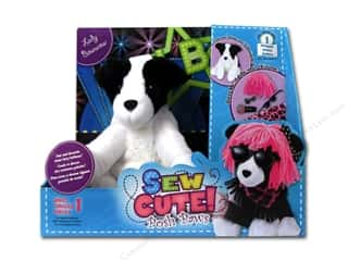 Buttons Kid Crafts: Colorbok Learn To Kit Sew Cute Posh Paws Lady Bow Wow