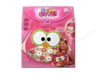 Animals Kids Crafts: Colorbok Learn To Kit Sew Cute Owl