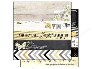 "Simple Stories Borders: Simple Stories Paper 12""x 12"" The Story Of Us Borders & Titles (25 pieces)"