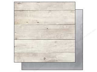 Simple Stories Paper 12x12 Story/Us Wood/Silver (25 piece)