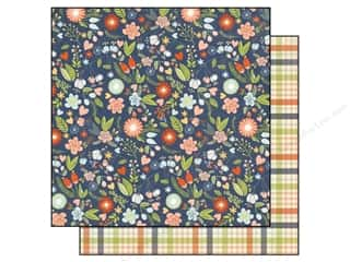 "Simple Stories Papers: Simple Stories Paper 12""x 12"" Under The Stars Wild Flower (25 pieces)"