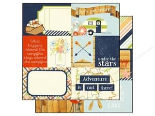 Simple Stories Paper 12x12 Under/Stars Element #1 (25 piece)
