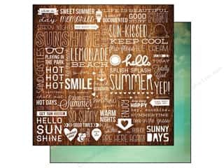Simple Stories Paper 12x12 Good Day Sun Blue Skies (25 piece)