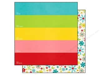 Stock Up Sale Paint: Simple Stories Paper 12 x 12 in. Good Day Sunshine Shades of Summer (25 pieces)
