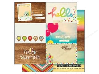 Simple Stories Paper 12x12 Good Day Sun Journl H (25 piece)