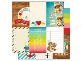 Simple Stories Paper 12x12 Good Day Sun Journl V (25 piece)