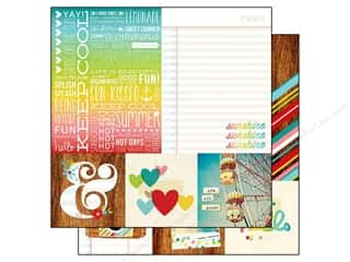 Simple Stories Paper 12x12 Good Day Sun Quote&Mat (25 piece)