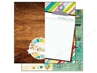 Simple Stories Paper 12x12 Good Day Sun Page Elmnt (25 piece)
