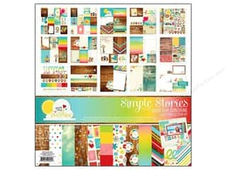 "Captions Summer: Simple Stories Kit Good Day Sunshine Collection 12""x 12"""