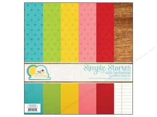 "Simple Stories Clearance Crafts: Simple Stories Kit Good Day Sunshine Basics 12""x 12"""