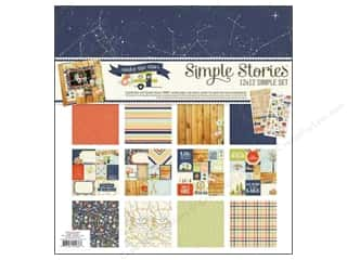 "Simple Stories ABC & 123: Simple Stories Kit Under The Stars Collection 12""x 12"""