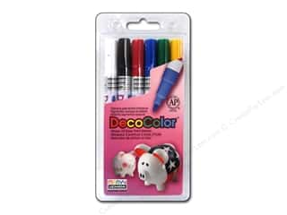 Uchida DecoColor Fine Marker Carded Set 6 pc. Primary
