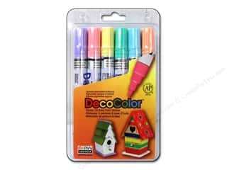 Uchida DecoColor Broad Marker Set 6 pc. Pastels