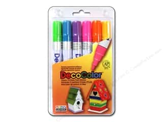 Uchida Hot: Uchida DecoColor Broad Marker Set 6 pc.