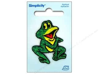 Simplicity Appliques Iron On Talking Frog