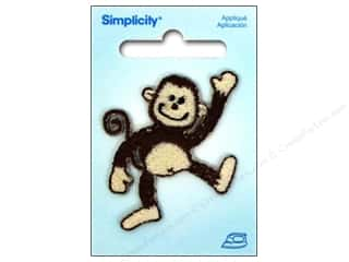 Simplicity Appliques Iron On Monkey Wave