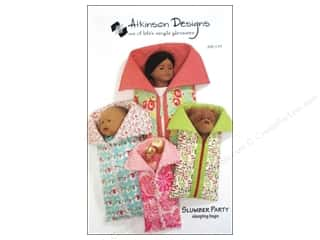 Children inches: Atkinson Designs Slumber Party Sleeping Bags Pattern