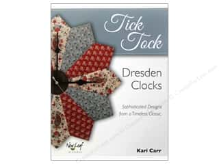 New Books & Patterns: New Leaf Stitches Tick Tock Book