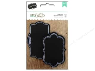 Labels: American Crafts Labels 12 pc. DIY Shop Chalkboard Fancy