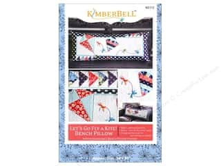 "Books & Patterns 16"": Kimberbell Designs Let's Go Fly A Kite! Bench Pillow Pattern"