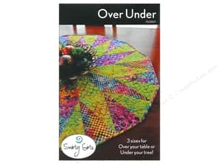 Home Decor Patterns: Swirly Girls Design Over Under Tree Skirt Pattern
