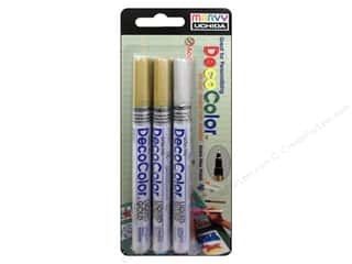 Uchida DecoColor Extra Fine Set 3 pc.Gold & Silver