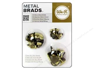 Brads mm: We R Memory Brad Basics Assorted Metal Warm