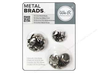 Brads mm: We R Memory Brad Basics Assorted Metal Cool