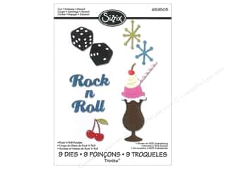 Sizzix Die JLong Thinlits Rock 'n Roll Sundae