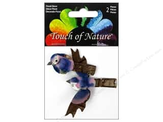 "Midwest Design Birds 1.5"" Mini Blue Jay 2pc"