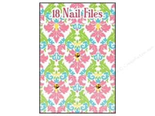 Lily McGee Nail File Matchbook Damask 18pc