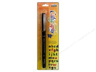 School $0 - $2: Uchida Calligraphy Pen Marker 2.0mm Black