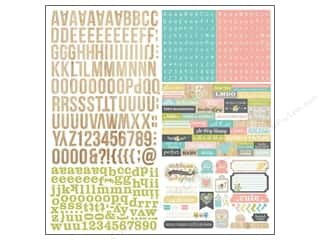 Simple Stories Alphabet Stickers: Simple Stories Sticker Hello Baby Expressions