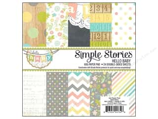 Simple Stories Paper Pad Hello Baby 6x6