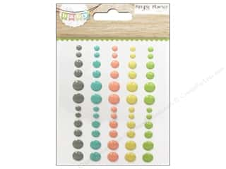Simple Stories Stickers: Simple Stories Sticker Hello Baby Enamel Dots